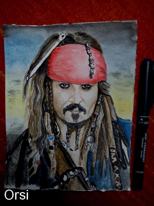Johnny Depp by Orsi